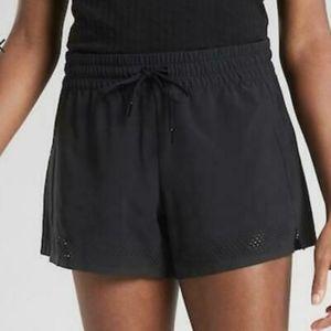 Athleta Baja 2.0 black shorts